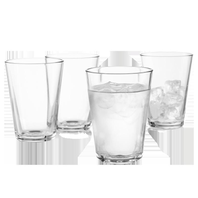 Gläser 38 cl, 4 St.