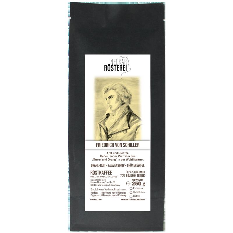 Friedrich von Schiller - Kaffeeröstung