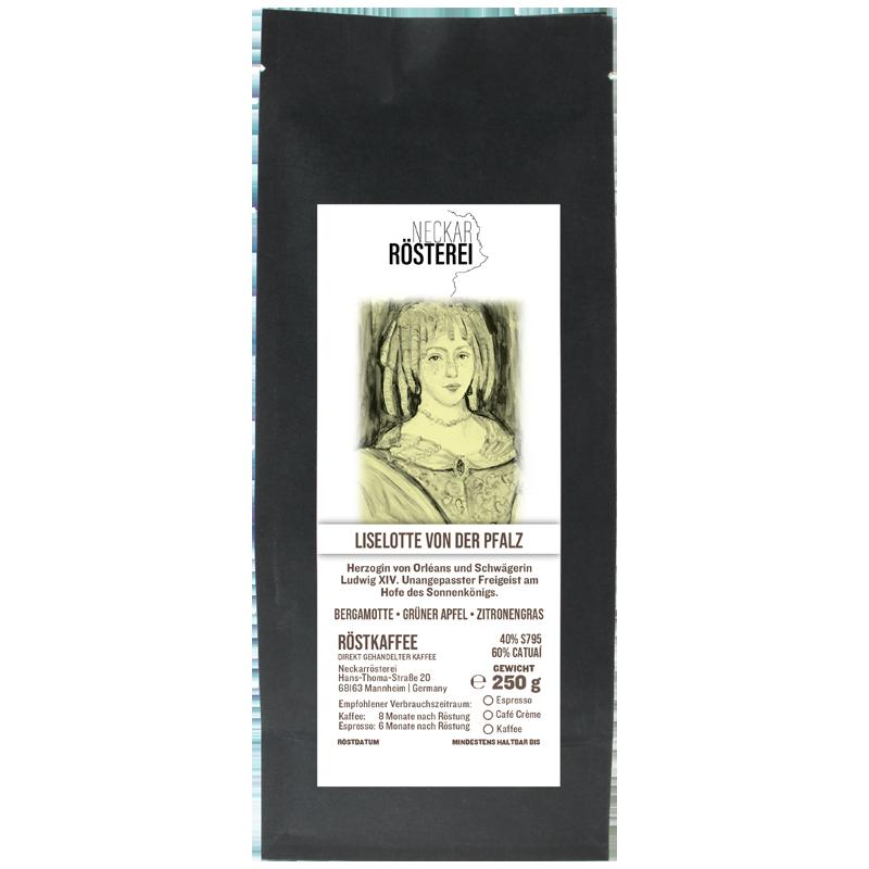 Liselotte von der Pfalz - Kaffeeröstung