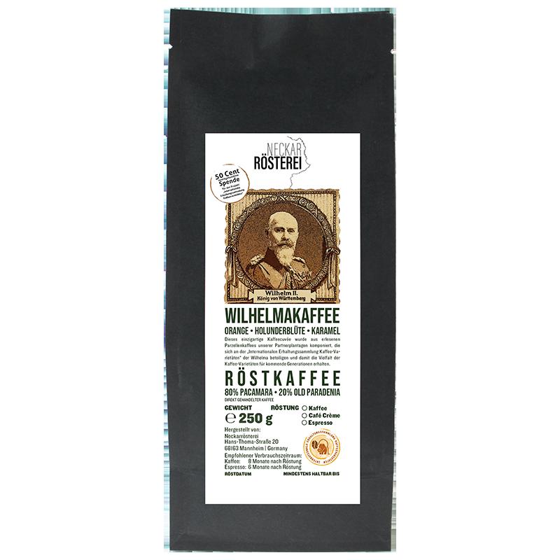 Wilhelmakaffee - Kaffeeröstung